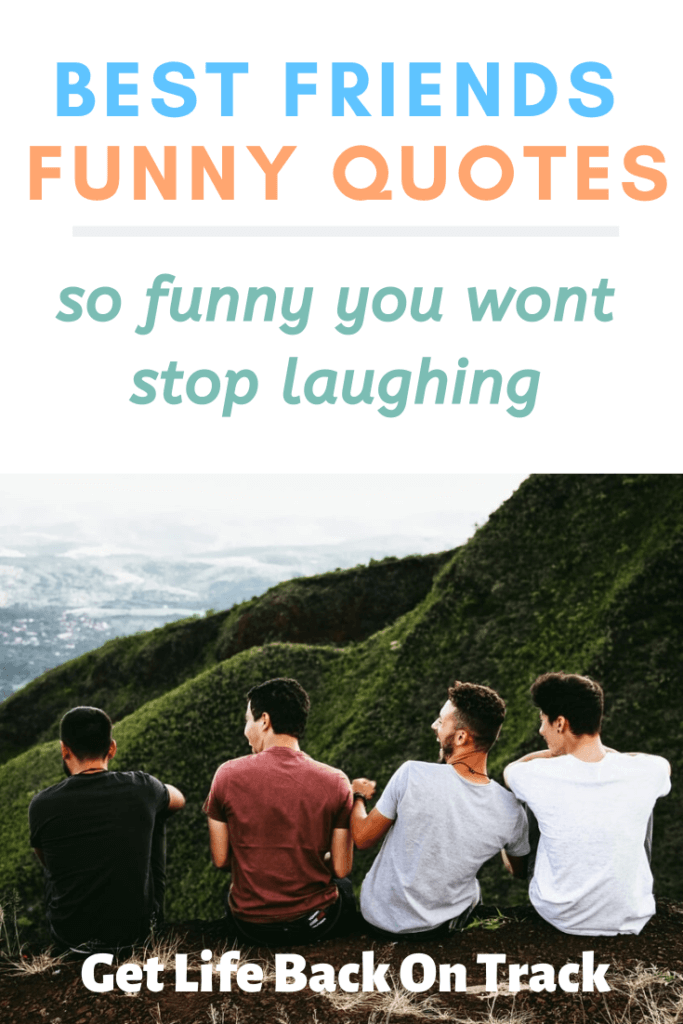 44 Best Funny Quotes About Friendship Get Life Back On Track
